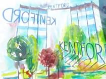 Cistigatoarea concursului pentru cea mai reusita pictura a cladirii KENTFORD